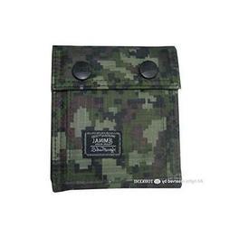 Generic Waterproof Camouflage Wallet Green Conven coin case