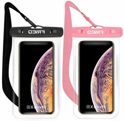 Waterproof Case 2 Pack For Iphone Xs Max Xr Xs X 8 7 6S Plus