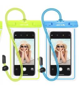 Waterproof Phone Pouch, Ace Teah IPX8 Universal Waterproof P
