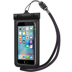 Waterproof Case, TETHYS Universal Protective Waterproof Bag