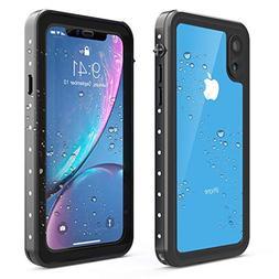 EONFINE Waterproof Case for iPhone XR Case, Full-Body Rugged