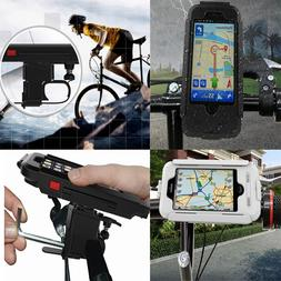 Waterproof Case Cover Bike Bicycle Handlebar Mount Holder Fo