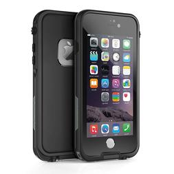For Apple iPhone 6s 6 Plus Waterproof Case Cover w/ Built-in