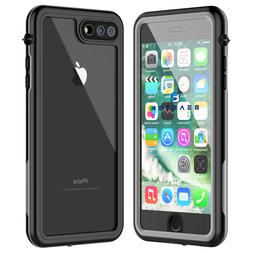 Waterproof Case for Apple iPhone 7 & 8 Plus Shockproof Dirtp
