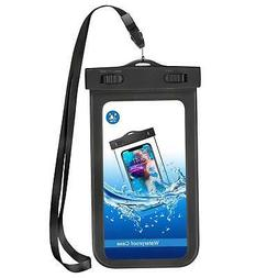 WATERPROOF CASE TRANSPARENT BAG IPX8 POUCH COVER TOUCH Q9O f