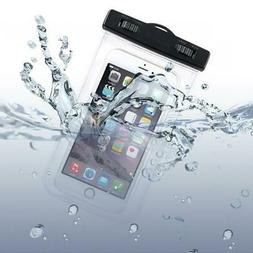 WATERPROOF CASE FIT UNDERWATER BAG FLOATING COVER TOUCH SCRE