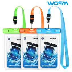 Mpow Waterproof Case Universal IPX8 Waterproof Phone Underwa