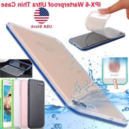 Waterproof Dirt Shockproof Slim TPU Case Full Body Cover For