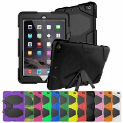 """""""Waterproof"""" Dirt Shockproof Stand Case Cover Fr iPad2/3/4 i"""