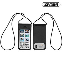 REMAX Waterproof Dry Pouch Phone Case Transparent TPU Soft P