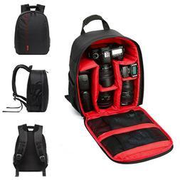 Waterproof DSLR Camera Backpack Shoulder Bag Case For Canon/