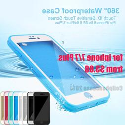 Waterproof Dustproof Rubber Phone Case Cover Fr Apple iPhone