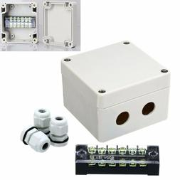 Waterproof Enclosure Electrical Junction Box Connector Termi