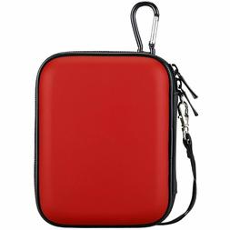 Lacdo Waterproof Hard Eva Shockproof Pouch Case 2.5-Inch Har