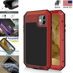 Waterproof Heavy Duty Metal Case Cover For iPhone 11 Pro Max