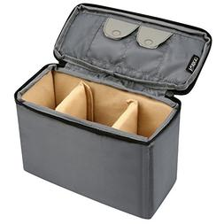 Kattee Waterproof Camera Insert Bag, DSLR SLR Padded Case Sh