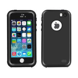 Waterproof iPhone 5/5s/SE Case, Eonfine Shockproof Protectiv