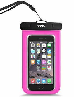Waterproof IPX8 Pouch Cellphone Dry Bag Case Universal Up To