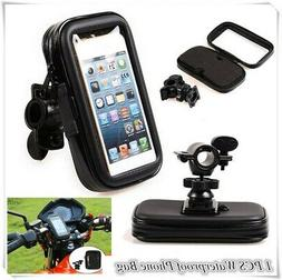 Waterproof Motorcycle Bicycle Handlebar Case Bag Mount Holde
