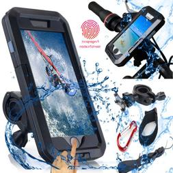 Waterproof Motorcycle Bicycle Handlebar Mount Holder Case Fo