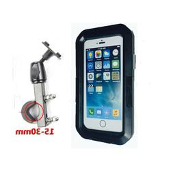 Waterproof Motorcycle Bike Handlebar Mount Holder Case For i