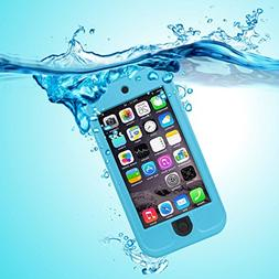 PARLT Waterproof Full-Body Sealed Case with Kickstand for Ap