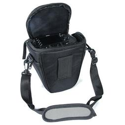 Waterproof Nylon DSLR Camera Bag Zipper Shoulder Case Carry