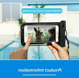 Waterproof Phone Case PVC Anti-Water Pouch Dry Bag Cover for