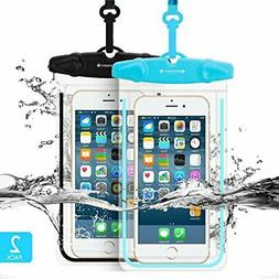 Waterproof Phone Pouch,FITFORT IPX8 Universal Floating Water