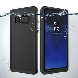 Waterproof Rugged Case with Built in Screen Protector for Sa