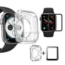 Waterproof Screen Protector TPU Case Cover For Apple Watch 5