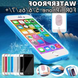 Waterproof Shockproof Hybrid Rubber TPU Case Cover iPhone 6s