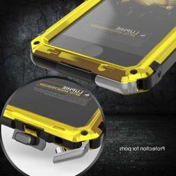 Waterproof Shockproof Aluminum Metal Case for iPhone 6S 7 8