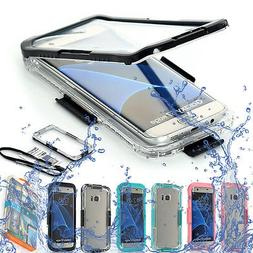 Waterproof Shockproof Dirt Proof Clear Case For Samsung Gala