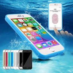 Waterproof Shockproof Hybrid Rubber TPU Case Cover For iPhon