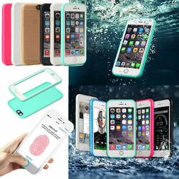 Waterproof Shockproof Hybrid Rubber TPU Phone Case Cover For