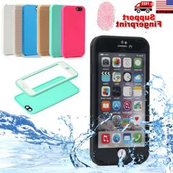 Waterproof Shockproof Hybrid TPU Case Full Cover iPhone SE X