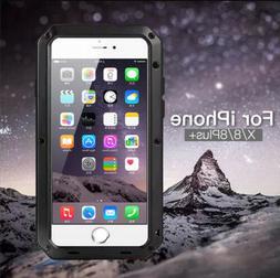 Waterproof Shockproof Metal Aluminum Gorilla Case For iPhone