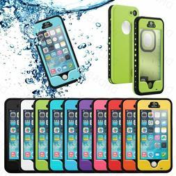 Waterproof ShockProof Touch ID Fingerprint Scanner Case Cove