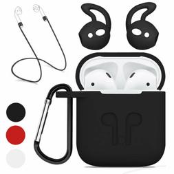 Waterproof Silicone Case Strap Holder & Ear Hook For Apple A