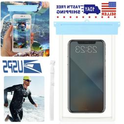 Waterproof Underwater Phone Pouch Bag Pack Case Cover For 6""