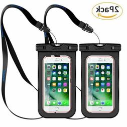 MPOW Waterproof Underwater Pouch Dry Bag Case Cover For iPho