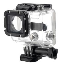 Waterproof Underwater Protective Housing Case with Glass Len