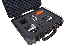 IBEX Cases - Black Watertight GoPro Hero and Accessories Har