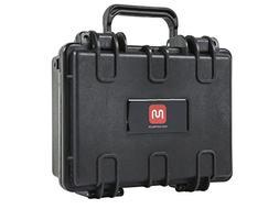 "Weatherproof Hard Case with Customizable Foam, 10"" x 8"" x 4"""