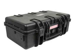 "Weatherproof Hard Case with Customizable Foam, 22"" x 14"" x 8"