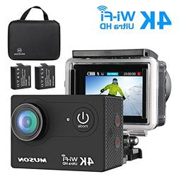 Muson MC2 Action Camera 4K WiFi Sports Camera DV Recorder 2.