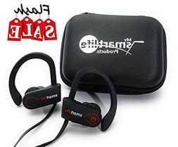 Wireless Bluetooth Headphones Mic Premium Bass HD Stereo Ear