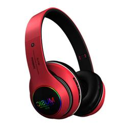 Mpow Wireless Bluetooth Noise Cancelling Headphones Bass LED