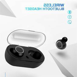 Wireless Earbuds Bluetooth 5.0 Stereo Waterproof Charging Ca